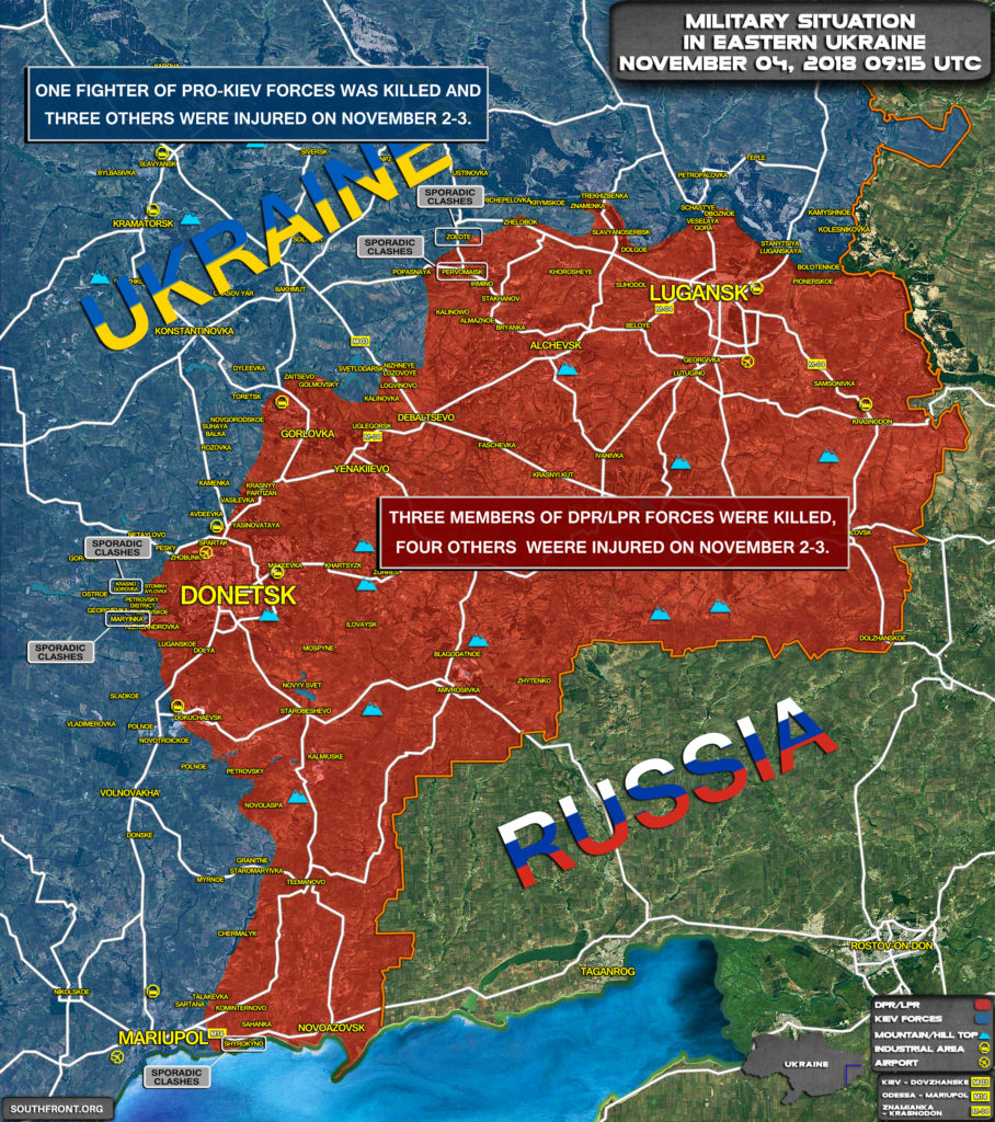 """""""Frozen Conflict"""" In Eastern Ukraine Seems Not So Frozen. More Casualties Reported As Clashes Erupt"""