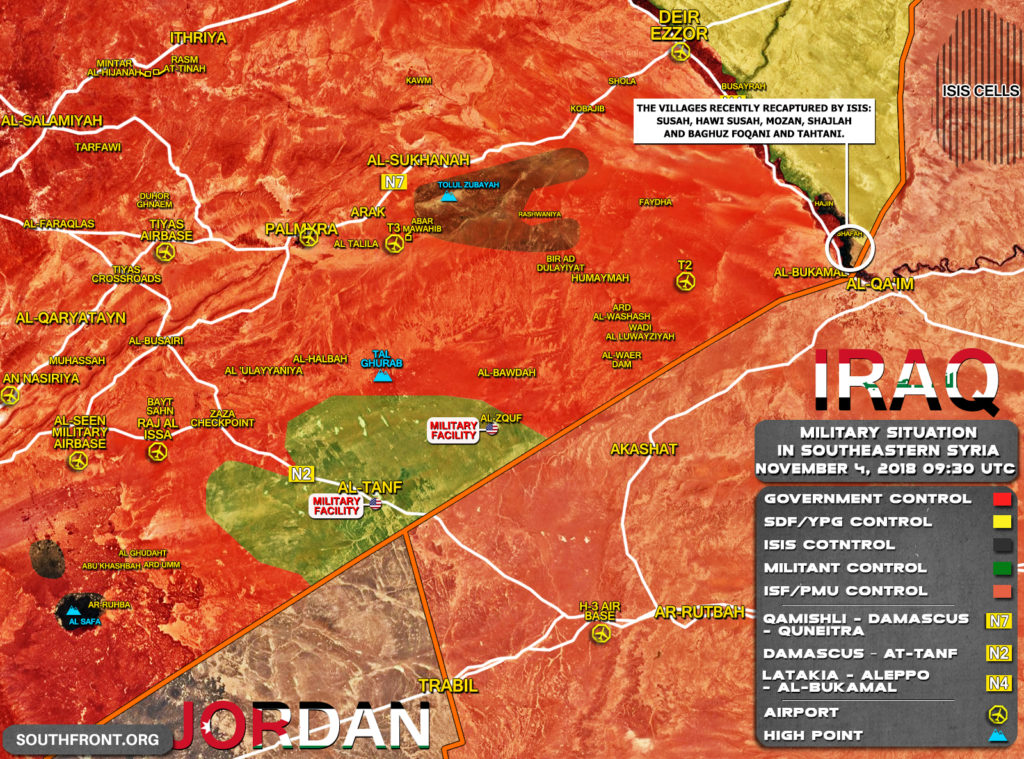 """ISIS' """"Little Caliphate"""" Grows In Euphrates Valley Thanks To Actions Of US-led Coalition And Its Proxies"""