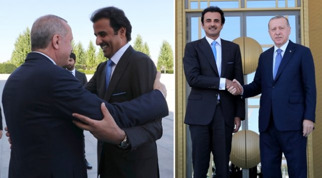 Qatar's Emir Gifts $500m Private Jet To Turkish President (Photos)