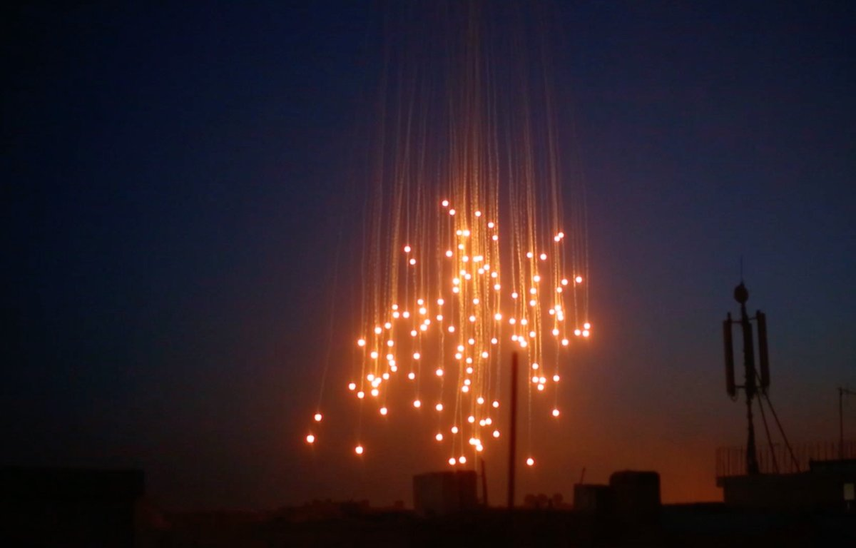 Once Again: US-led Coalition Strikes Targets In Euphrates Valley With White Phosphorus