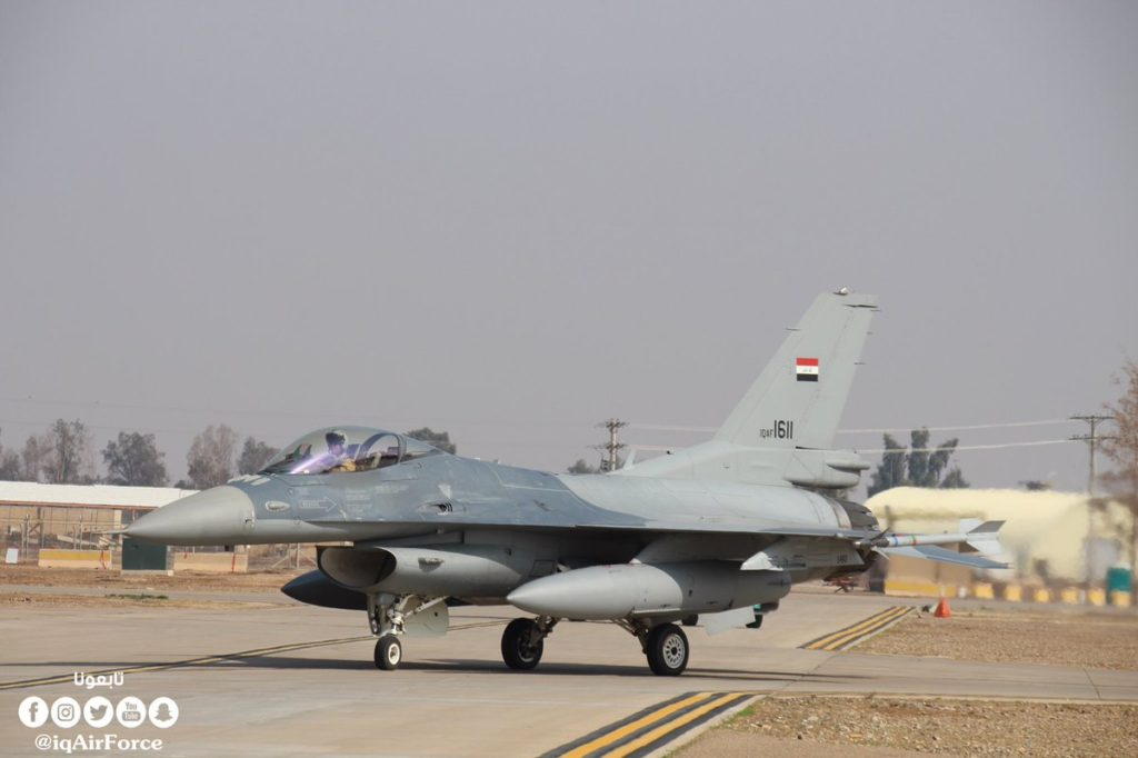 Iraqi Air Force Eliminated Over 40 ISIS Terrorists In New Round Of Airstrikes Inside Syria