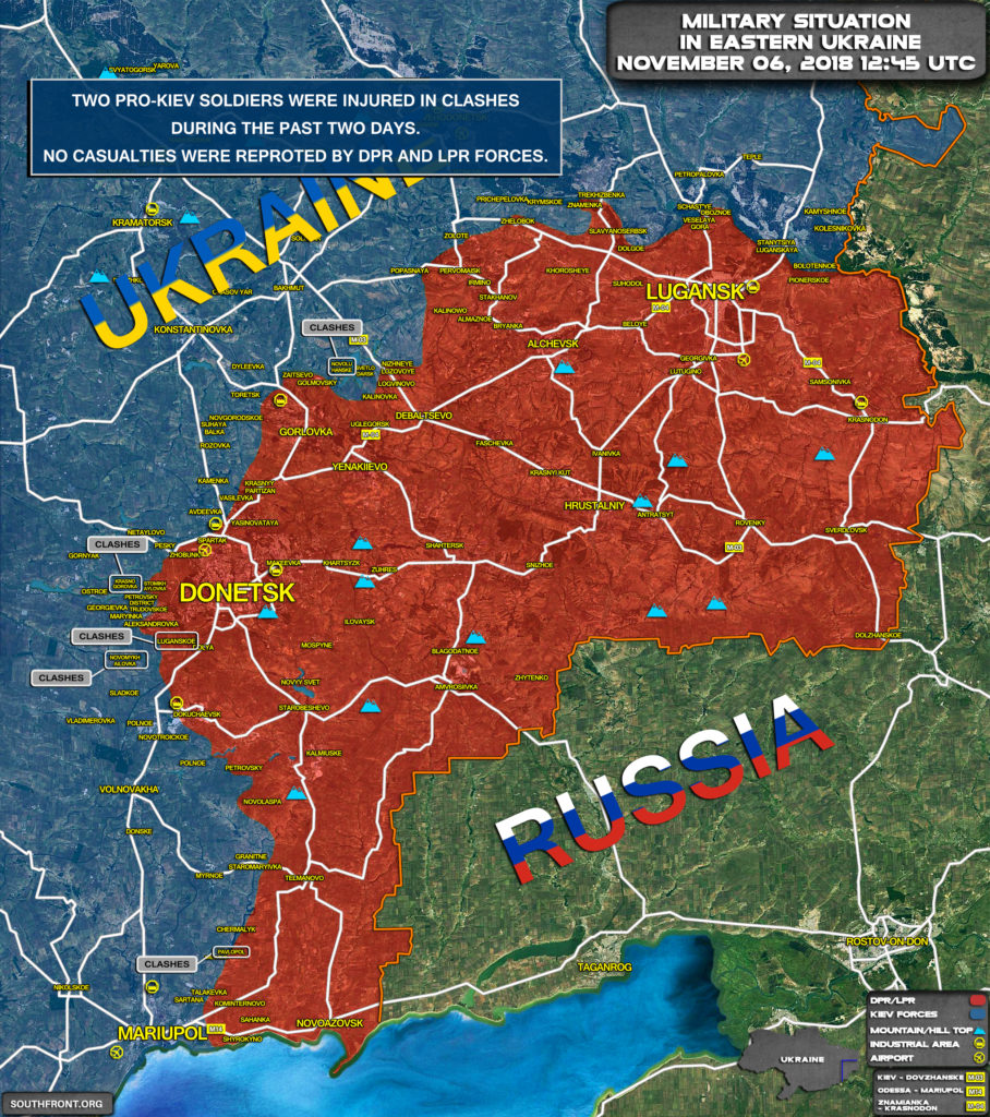 Two Pro-Kiev Fighters Injured In Clashes In Eastern Ukraine (Map Update)