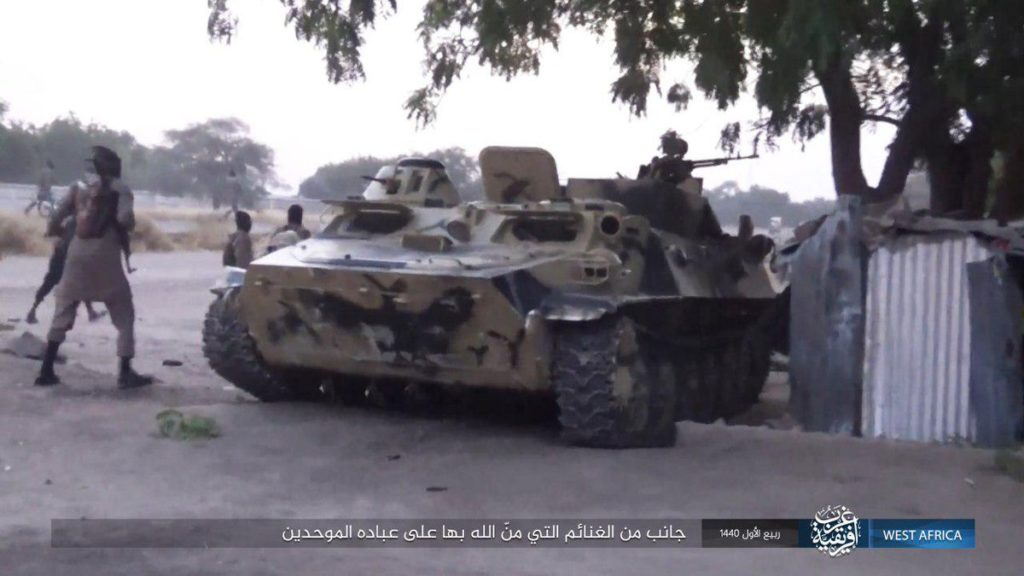 ISIS Kills 43 Niger Soldiers, Captures 2 Battle Tanks & Other Equipment Near Lake Chad (Photos)