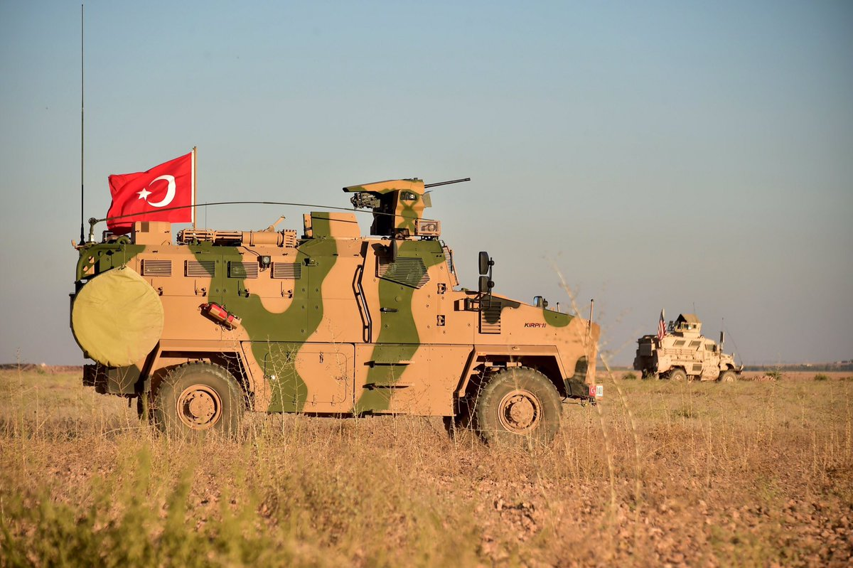 Turkish And U.S. Troops Begin Conducting Joint Patrols North Of Manbij (Photos)