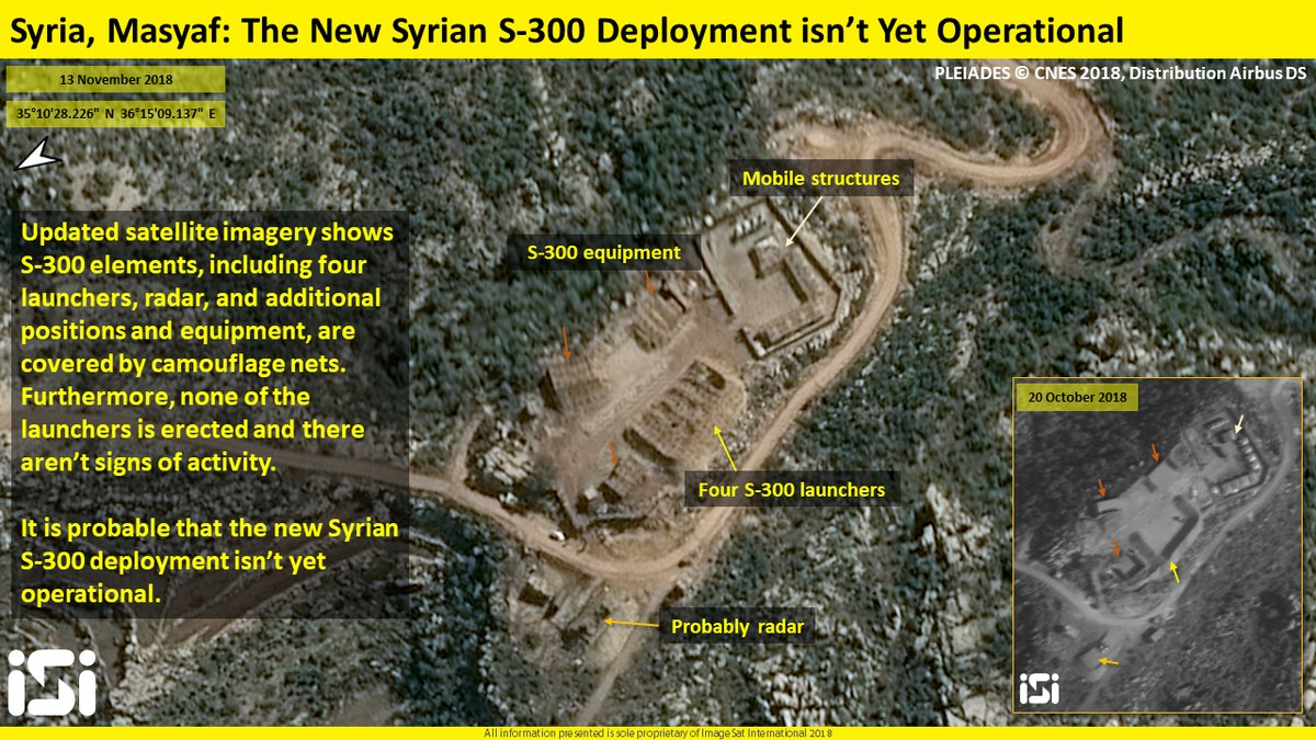 New Satellite Image Allegedly Shows That Syrian S-300 System Near Masyaf Is Still Inactive