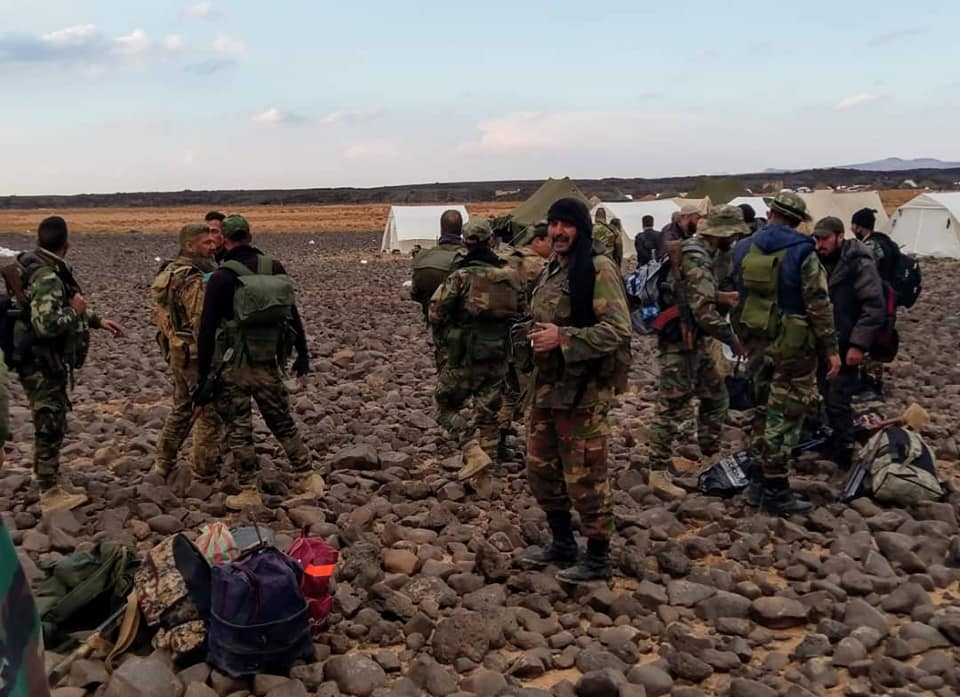 Russian Special Forces, Syrian 4th Division Arrive In Al-Suwayda To Launch Attack On ISIS In Al-Safa