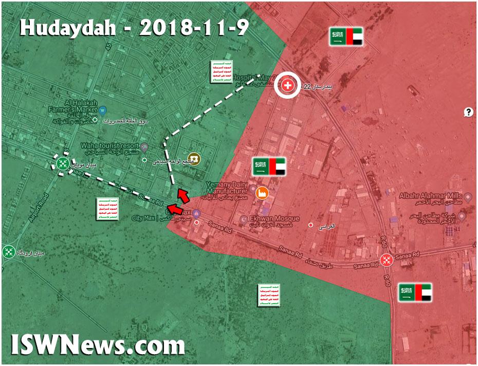Saudi-led Coalition Kills More Than 100 Houthis And Captures Key Positions Inside Al-Hudaydah (Map, Videos)