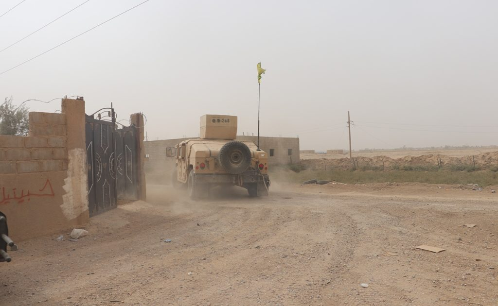 Syrian Democratic Forces Move Civilians Fleeing ISIS Areas To Filtration Camps