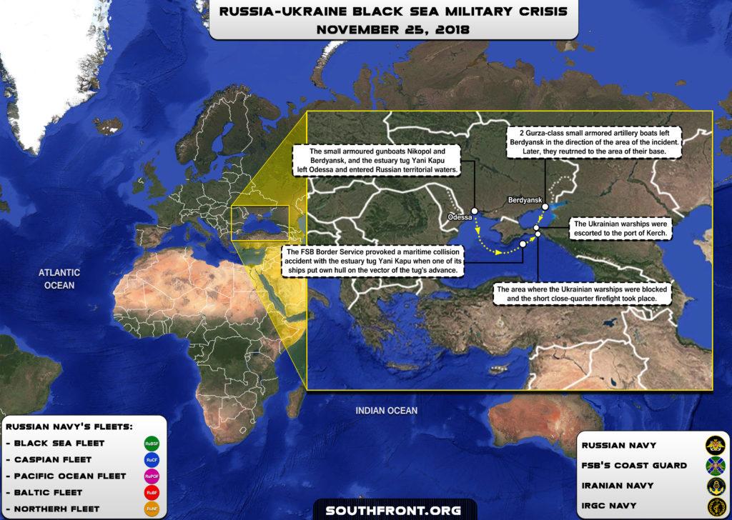 Information War Against Russia. Kerch Strait Maritime Incident
