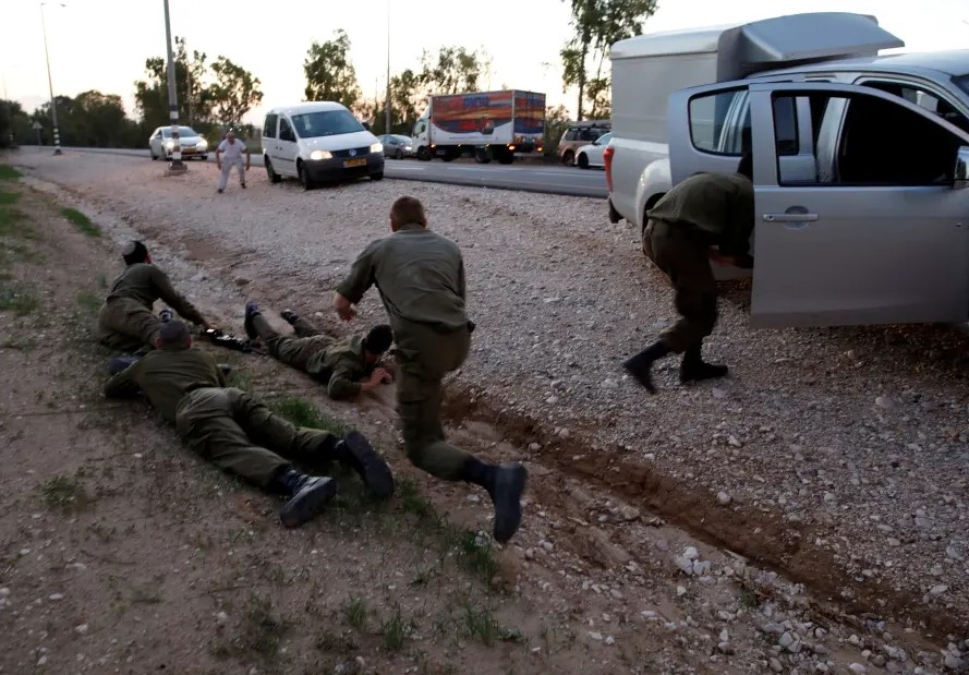 Palestinian Gunman Attacked Israeli Soldiers Near Gaza With Hand Grenades