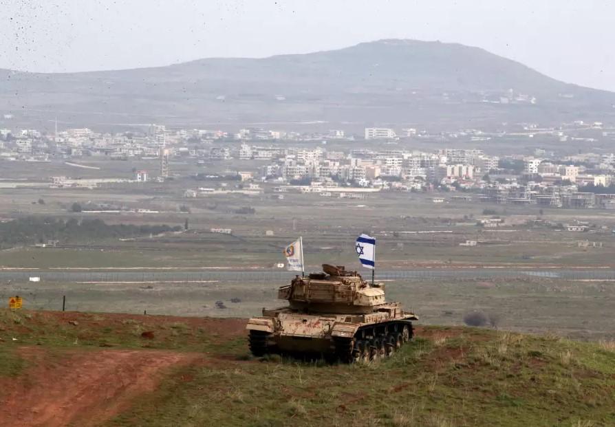 Explosions Rocked Syrian-Israeli Separation Line