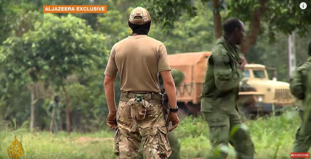 Al Jazeera Releases Video Showing Work Of Russian Military Advisers In Central African Republic