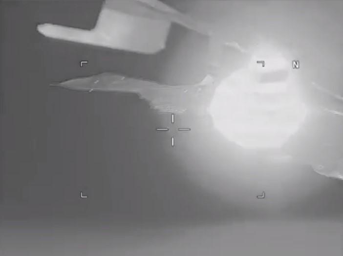 US Navy Complains Russian Su-27 Jet Intercepts US Spy Plane Over Black Sea