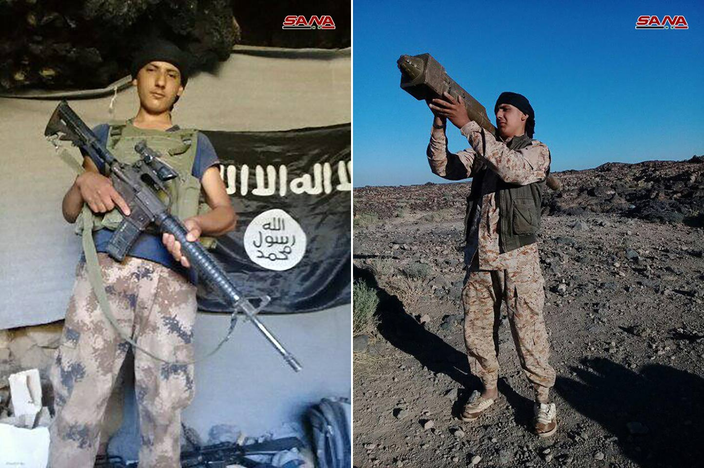 Captured ISIS Member Reveals How ISIS In Al-Safa Received Support From US-led Coalition Base At Al-Tanaf (Photos)