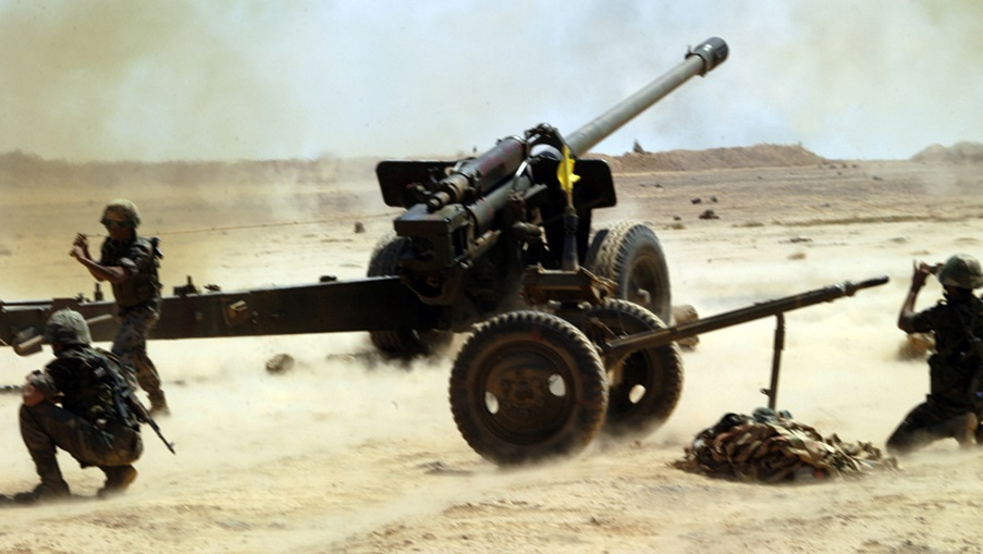 Syrian Army Artillery Shells Militant Positions In Hama And Idlib