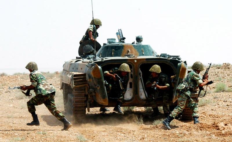 Syrian Army & Iraqi PMU Launch Joint Combing Operation Along Border