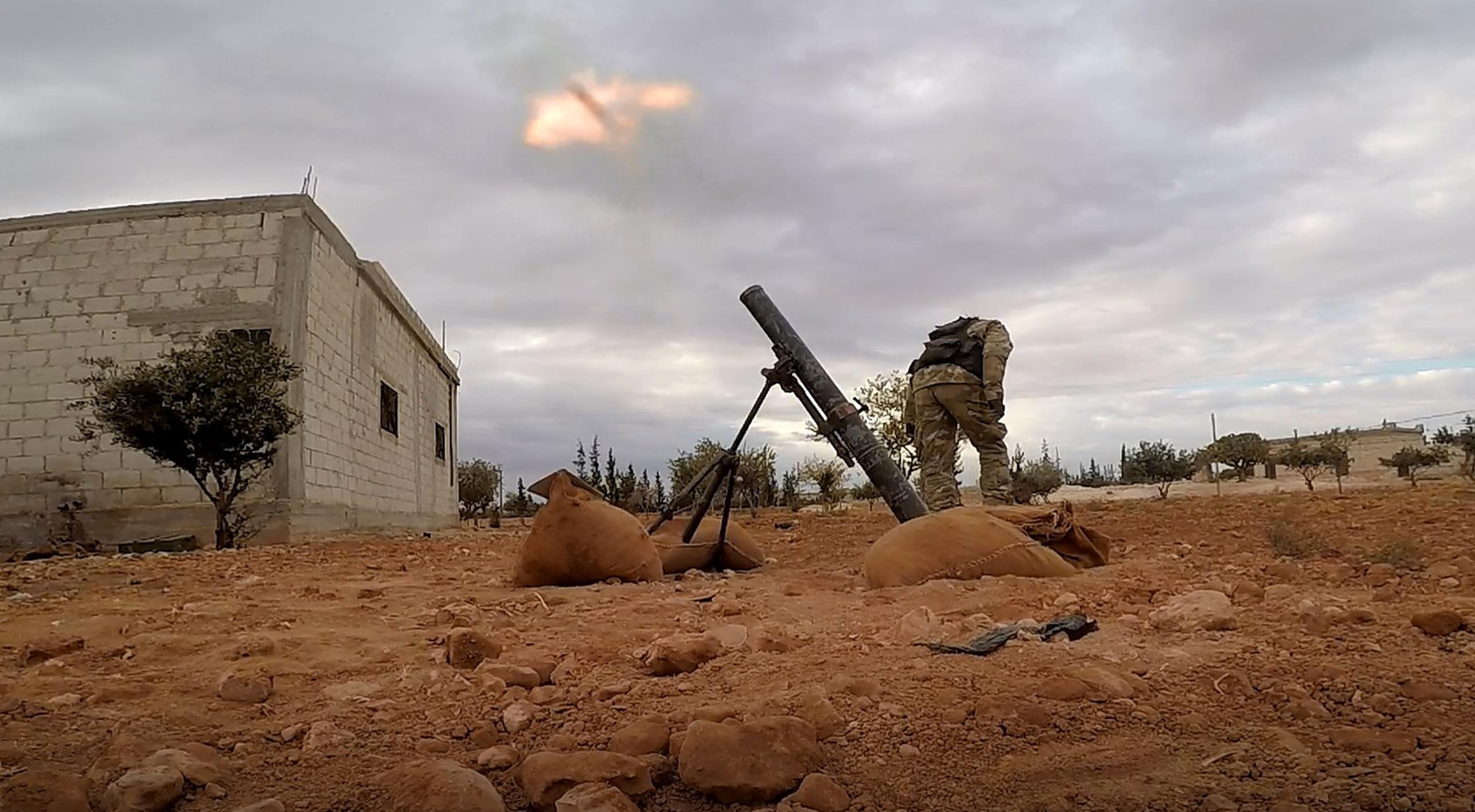 Hay'at Tahrir Al-Sham And Turkestan Militants Shell Northern Government-Held Areas In Northwestern Hama
