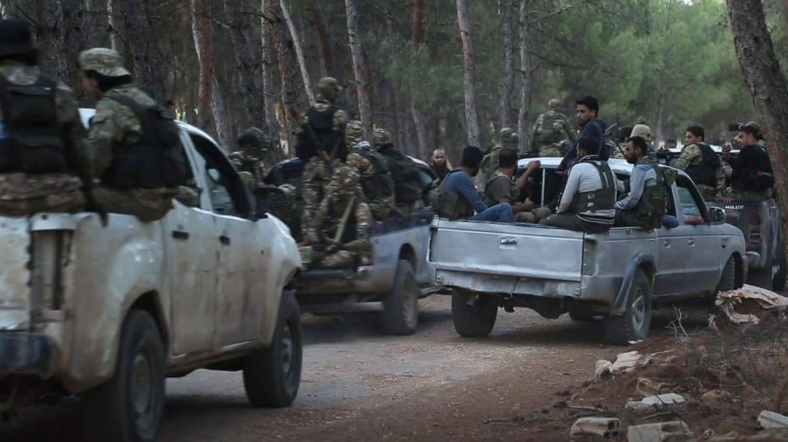 Hay'at Tahrir Al-Sham Attacks French Militants In Northern Idlib