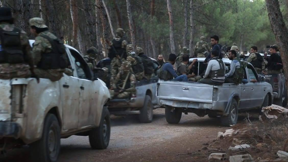 Six ISIS Suicide Bombers Blew Themselves Up Among Hay'at Tahrir Al-Sham Security Forces In Idlib