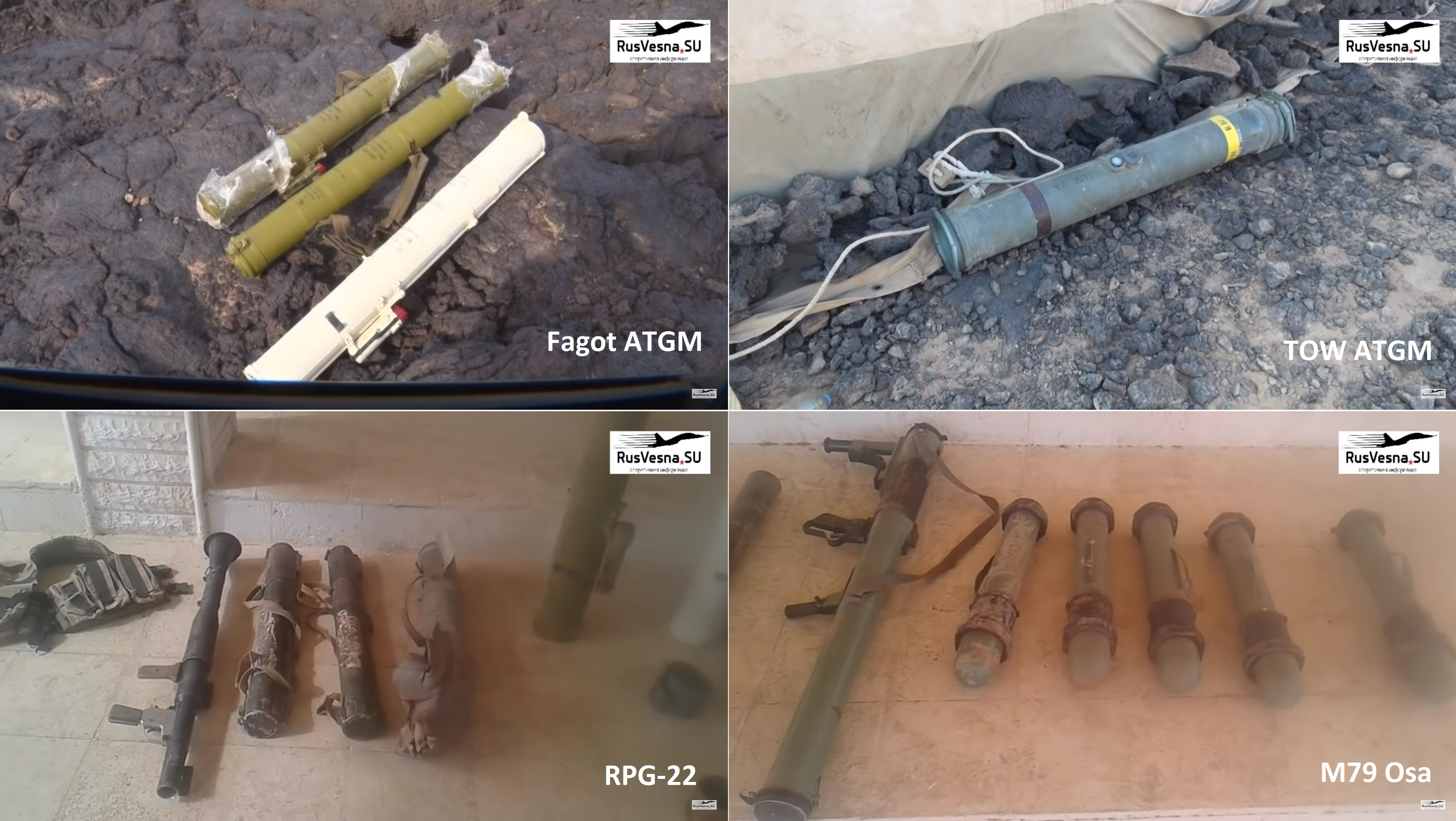 Syrian Army Finds US-Supplied Weapons In ISIS Hideouts In Al-Safa (Video)
