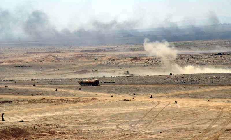 Syrian Army Kicks Off New Attack Against ISIS In Al-Safa