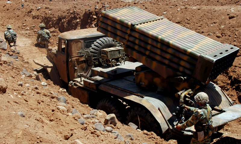 Syrian Army Destroys Militants' Ammo Depot, Vehicles In Idlib & Hama