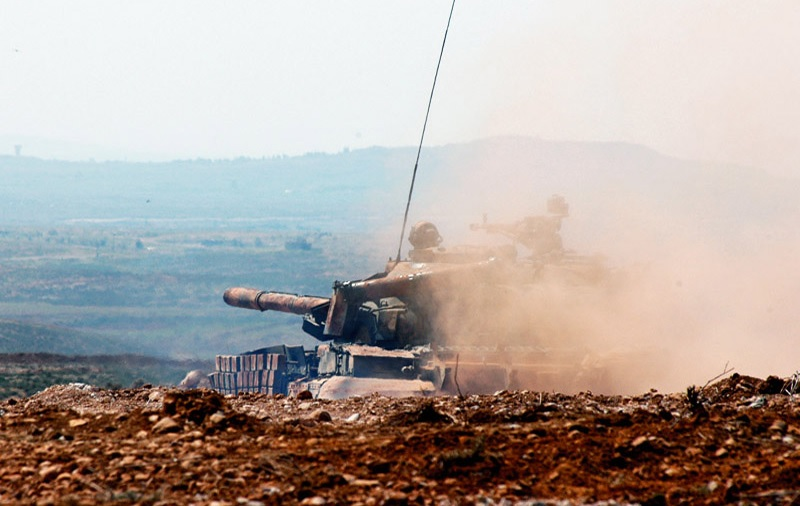 Syrian Army Targets Militants In Northern Hama Following New Violations Of Deconfliction Agreement