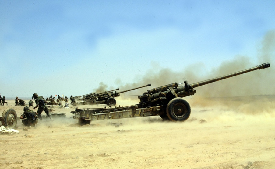 Syrian Army Attacks Militants In Northern Hama With Armed Drone And Artillery
