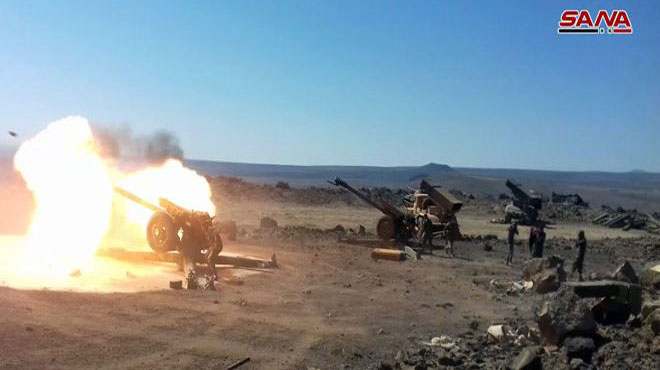Al-Safa Is Liberated. Syrian Army Eliminated Last ISIS-held Position In Al-Safa