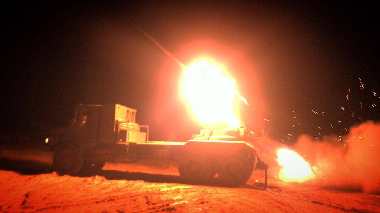 Iraqi Popular Mobilization Units Strike ISIS Gatherings In Eastern Syria