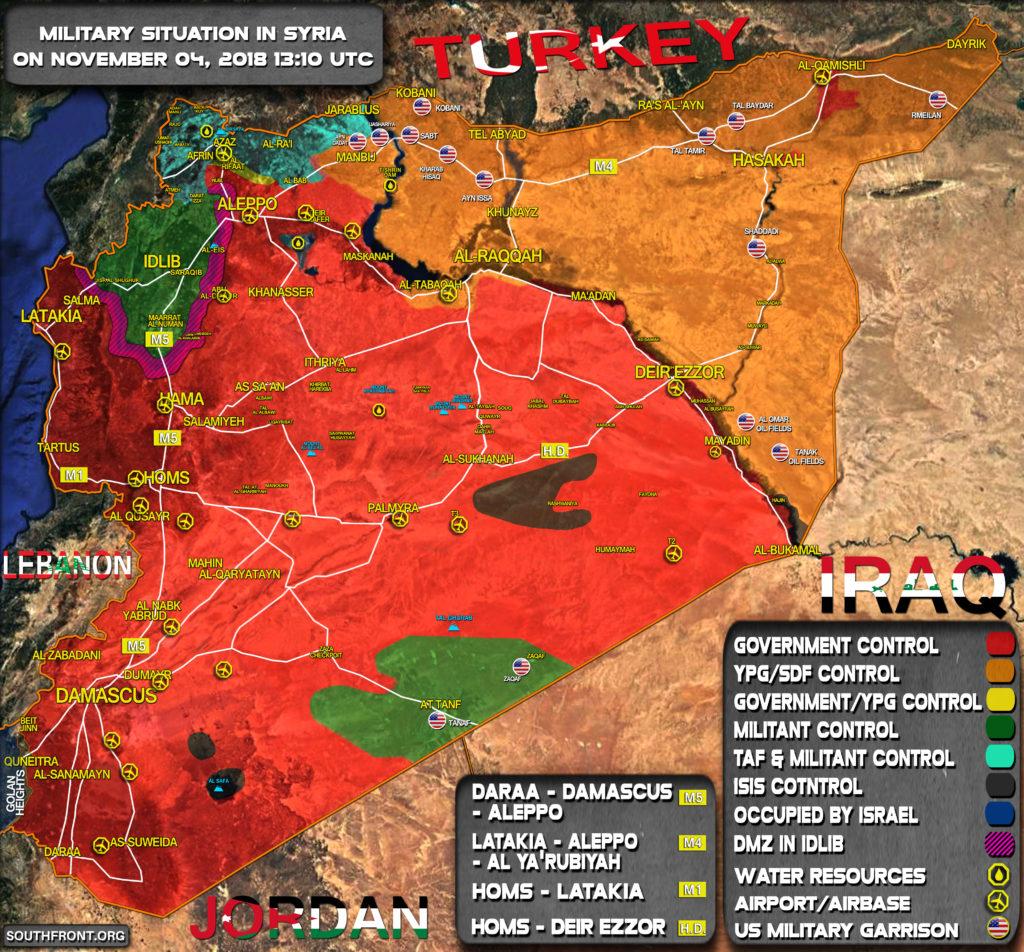 US Says Turkish Strikes On Kurdish Militias In Northern Syria Puts Its Troops At Risk