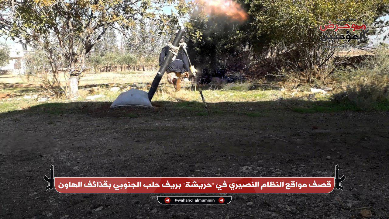 """""""Moderate Opposition"""" Shells Syrian Army Positions In Aleppo And Northern Hama (Photos)"""