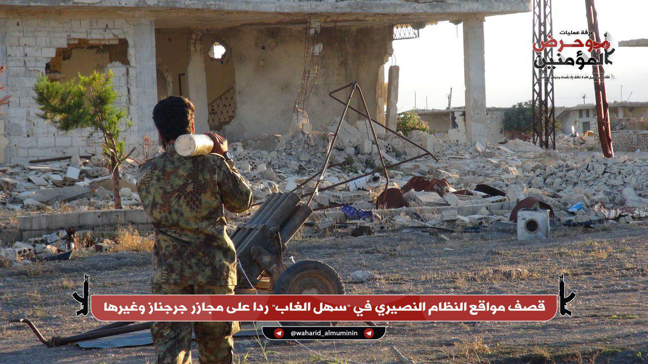 Al-Qaeda-linked Militants Continue Their Attacks On Syrian Army In Northwestern Hama (Photos)