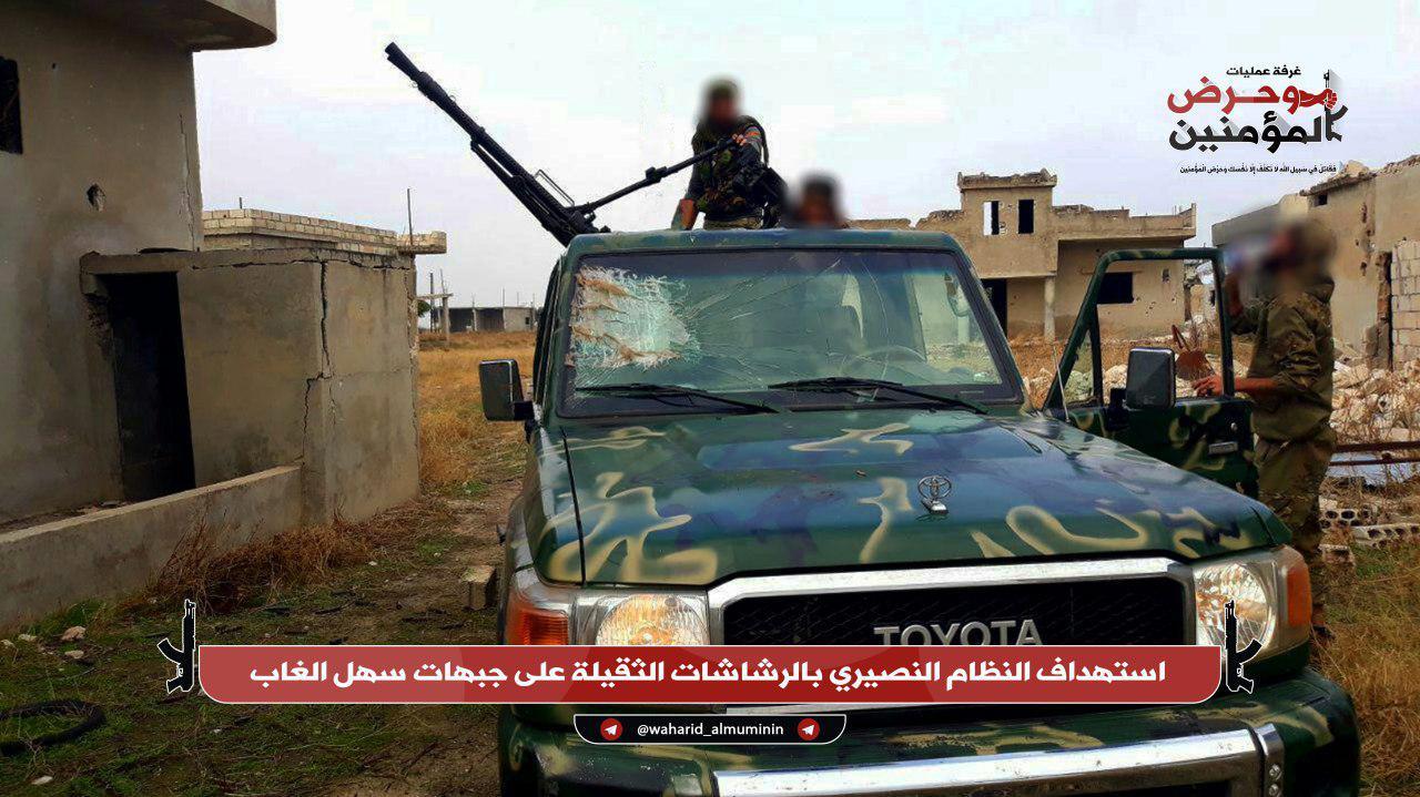 Syrian Army Retaliates To Ceasefire Violations In Southwestern Aleppo And Northwestern Hama (Photos)