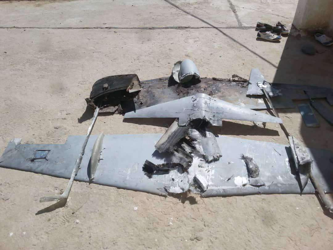 Saudi-led Coalition Destroys Houthis Rocket Launcher And Shoots Down Armed Drone (Video, Photos)