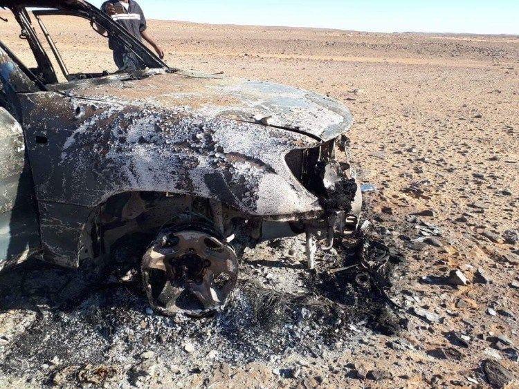 U.S. Conducts Precision Airstrikes On Al-Qaeda Cells In Southeastern Libya (Photos)