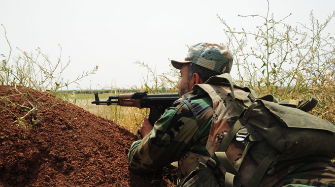 Syrian Army Retaliates To New Violations In Northern Hama