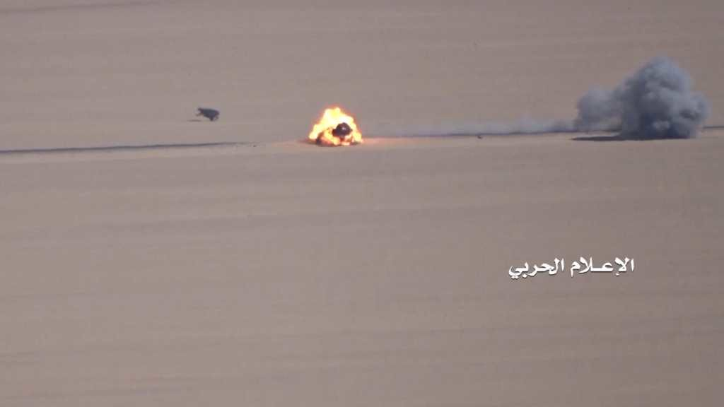 Combat Footage: Houthis Destroy Vehices Of Saudi-led Forces In Saudi Arabia's Najran Province
