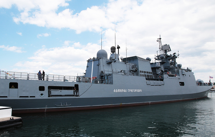 Russian Frigates Repel Missile Attack, Fire Kalibr Cruise Missiles In Mediterranean Exercise