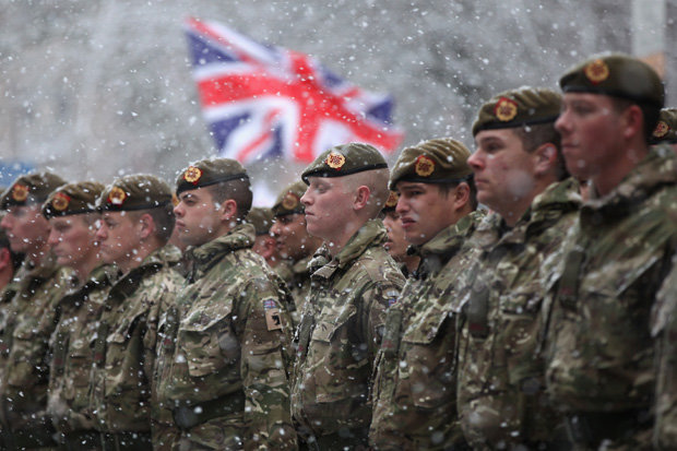 """Theresa May Thanks British Military For Protecting Country From """"Russian Intrusion"""" In 2018"""