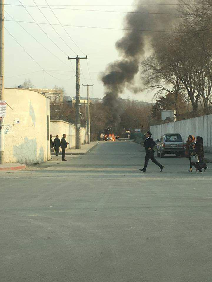 Car Bomb Explodes In Kabul Government Compound, Gunmen Storm Buldings
