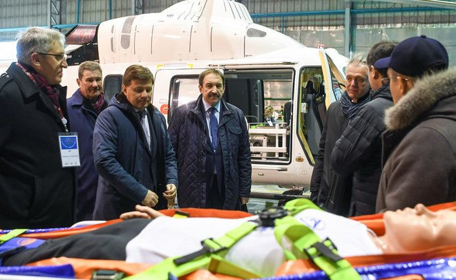 "Head Of Russian Helicopters Corp: ""Russia has the oldest civilian helicopters among all aircraft-building nations"""