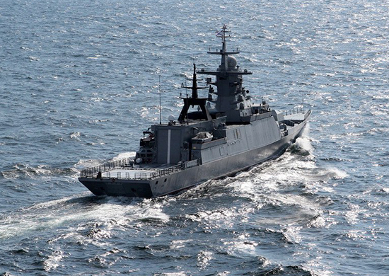 Steregushchiy-class Corvette Gromkiy Enters Service With Russia's Pacific Fleet