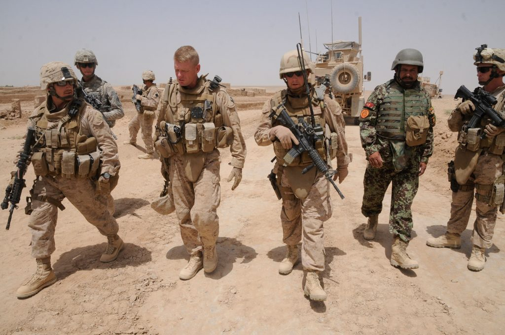 """U.S. Forces Withdraw From Afghanistan. Secret Negotiations with the Taliban. """"Huge Political Change on the Horizon"""""""