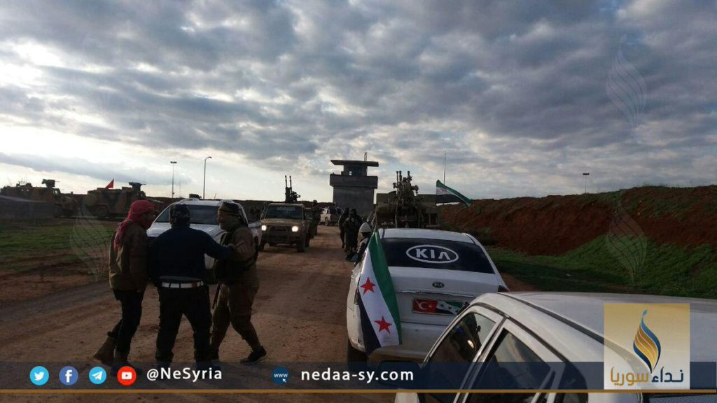 In Photos: Turkish-backed Militants Continue To Conentrate Forces Near Manbij Despite Reported Deal Between Syrian Army And YPG