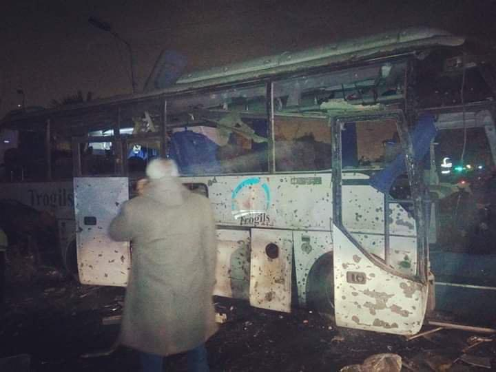 At Least 2 Killed, 12 Injured In Explosion Of Tourist Bus In Egypt