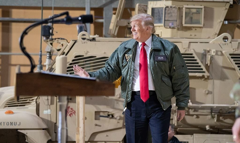 Trump Ran Scared to Iraq, to Avert Coup Against Him