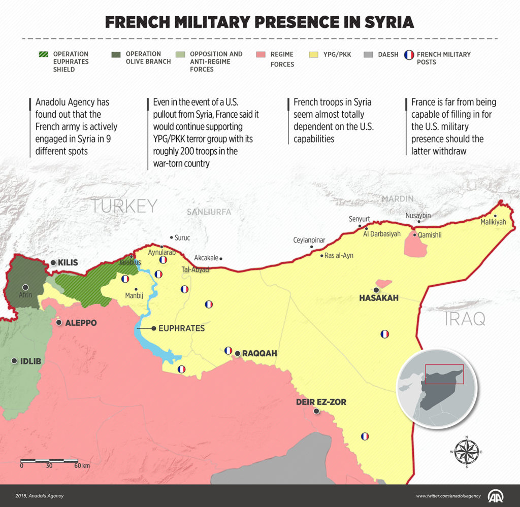 Map Update: French Military Presence In Northern Syria