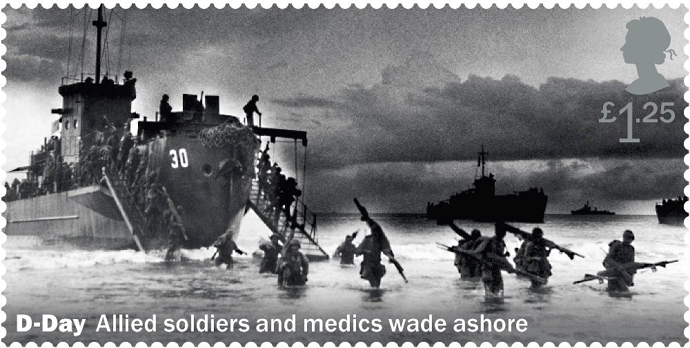 Royal Mail Uses US Troops Photo To Showcase 'British Involvement' In D-Day Landings