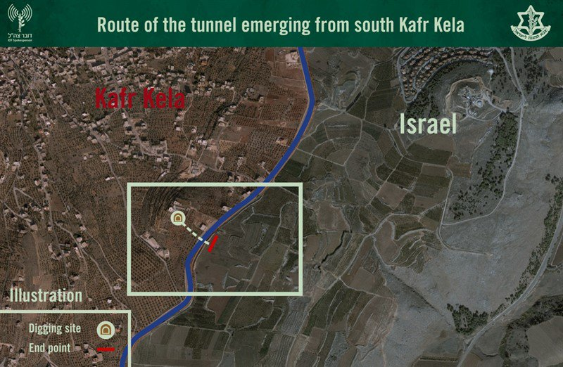 Israel Claims It Destroyed 200m-Long Hezbollah Attack Tunnel At Lebanese Border